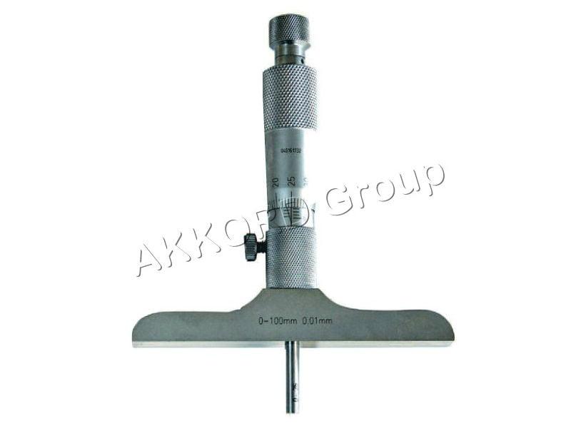 Micrometru mecanic adancime